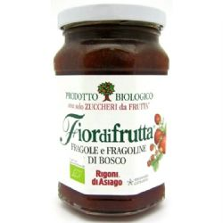 Wild Strawberry Jam | Organic | Rigoni | Fiordifrutta| Buy Online | Italian Food | UK